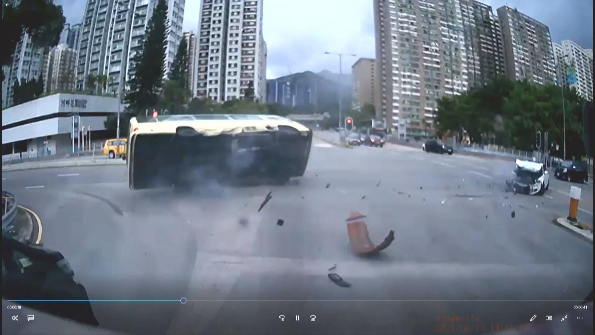 周日沙田致命車禍 私家車司機獲准保釋候查