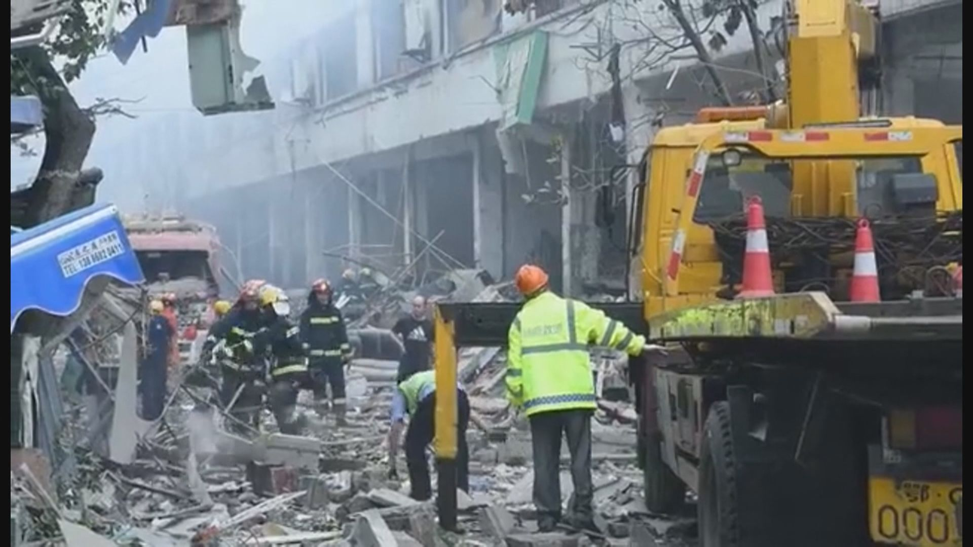 湖北十堰市燃氣爆炸增至25人死亡