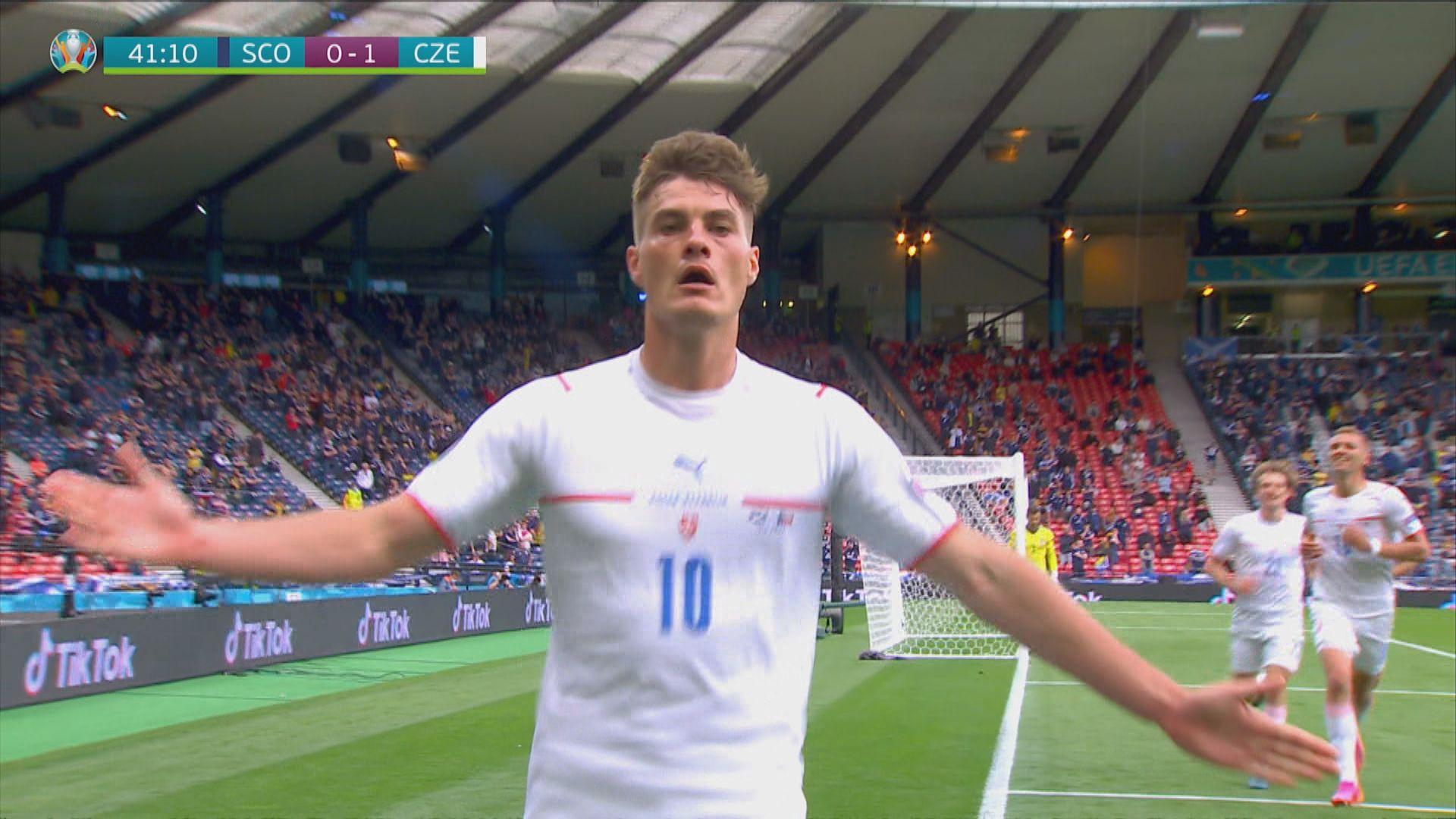 歐國盃 蘇格蘭0:2捷克