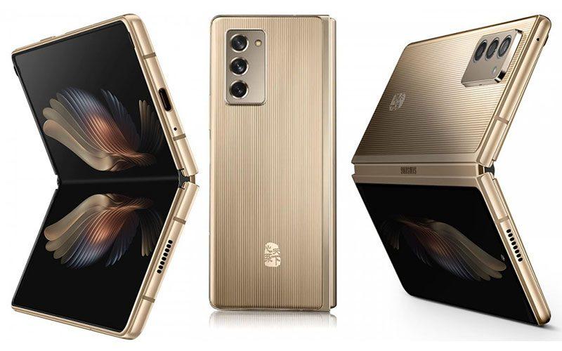 繼續有土豪版 Z Fold3,中國限定 Samsung W22 5G 或改推黑色款