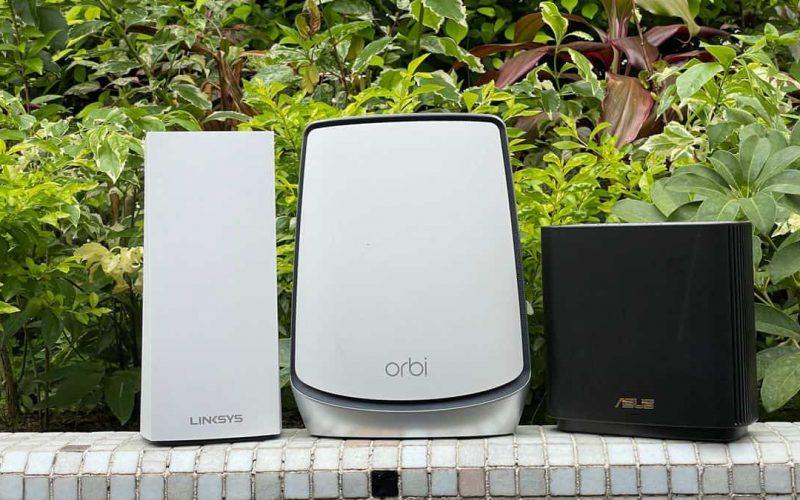 2021 Mesh WiFi 6 Router 三強對決!