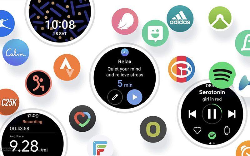 更完美連動 Android 手機,三星發表 One UI Watch 介面