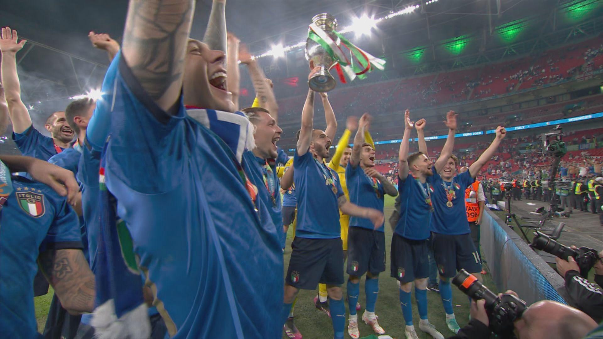 歐國盃 史邊拿索拿受傷一度成意大利隱憂