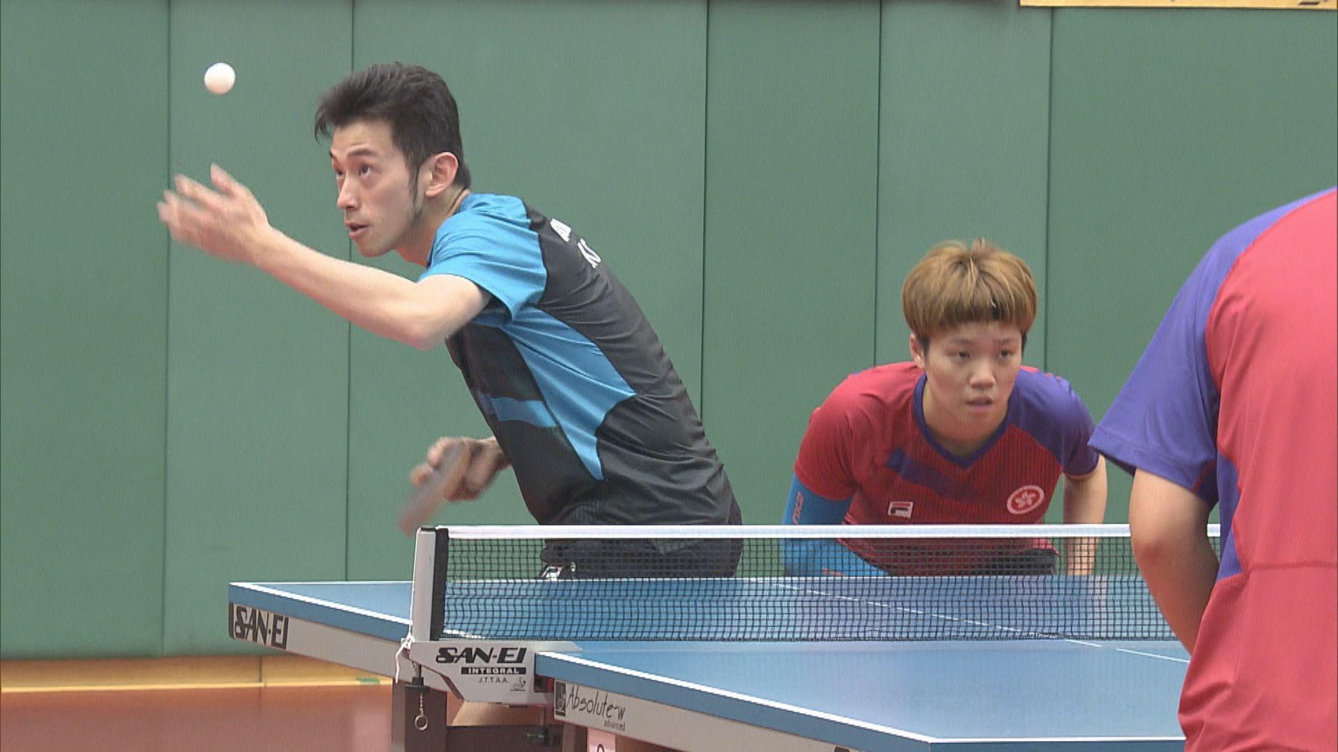 【備戰奧運】乒乓增設混雙項目 港隊盼衝擊獎牌