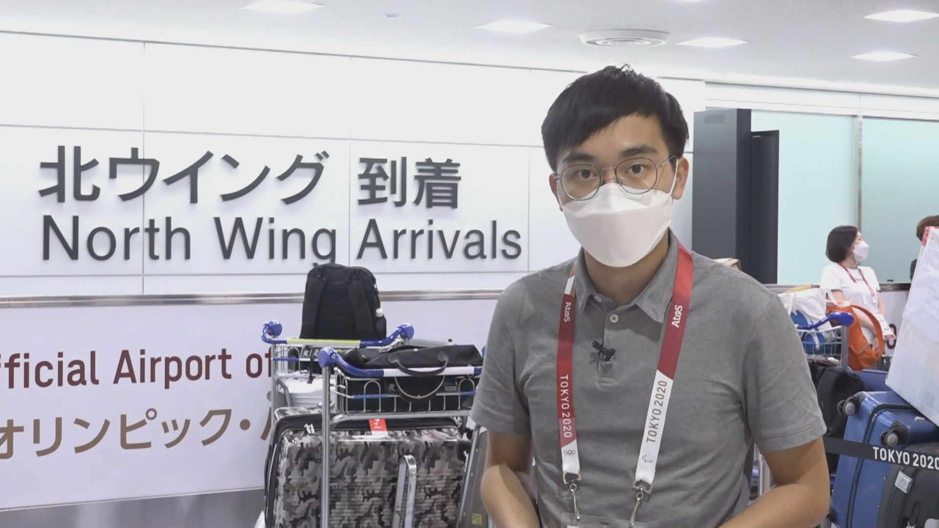 【東京直擊】機場設奧運通道檢測 選手及傳媒須封閉式管理