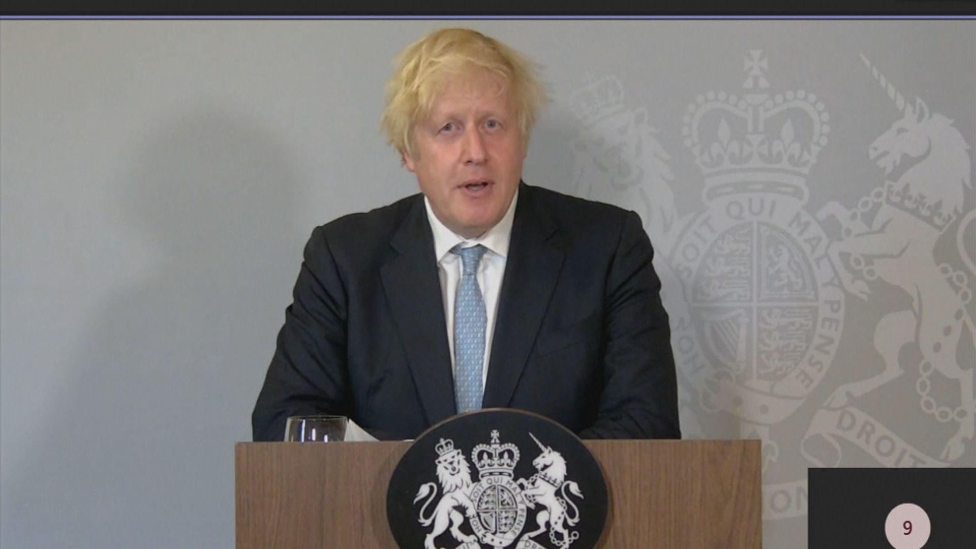 約翰遜為解封英格蘭辯護稱是解封正確時機
