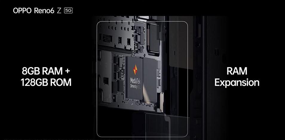 具備 30W VOOC閃充,OPPO Reno6 Z 5G 發表!
