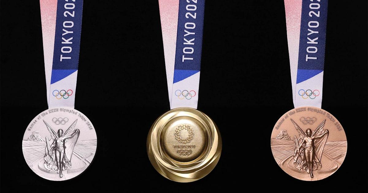 【環保東奧】張家朗何詩蓓手上獎牌、腳下頒獎台都由「垃圾」製成?