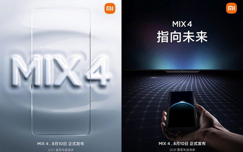 確定 8/10 發佈,小米 MIX4 曝 UWB 傳統、UDC 屏下鏡頭功能