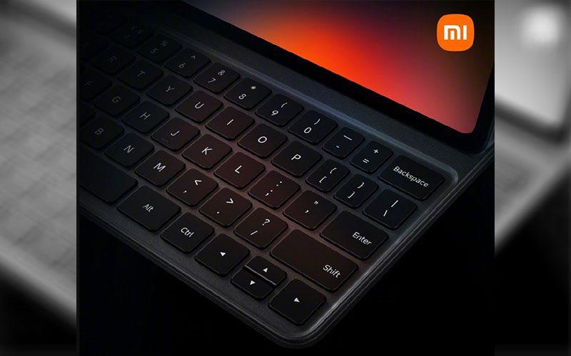 確認具鍵盤套配件,小米平板5 外觀流出
