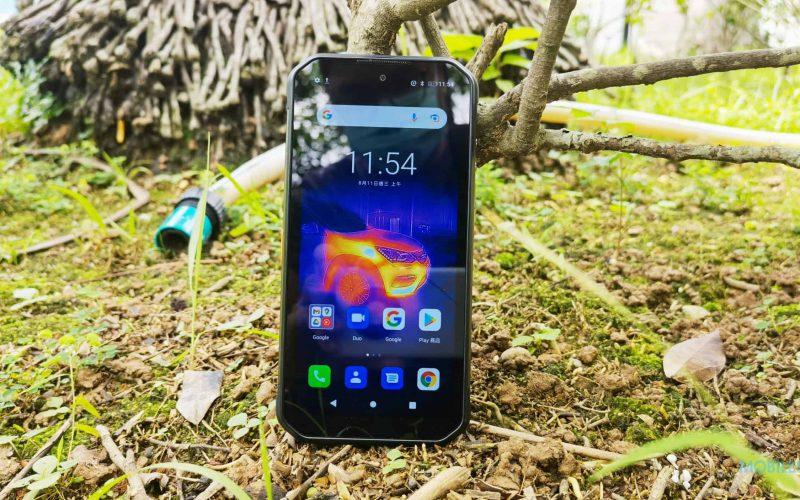 首款設有熱感鏡頭的5G三防手機,uleFone ARMOR 11T 測評