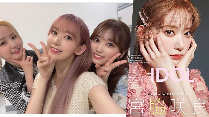 再有IZ*ONE成員簽約HYPE 宮脇咲良月中飛韓組新女團