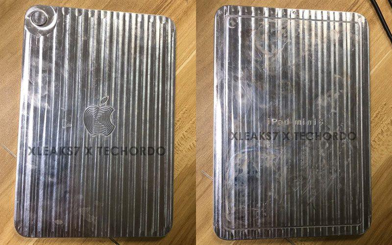疑似 iPad mini 6 金屬模板流出,無 Home 鍵改用新外觀