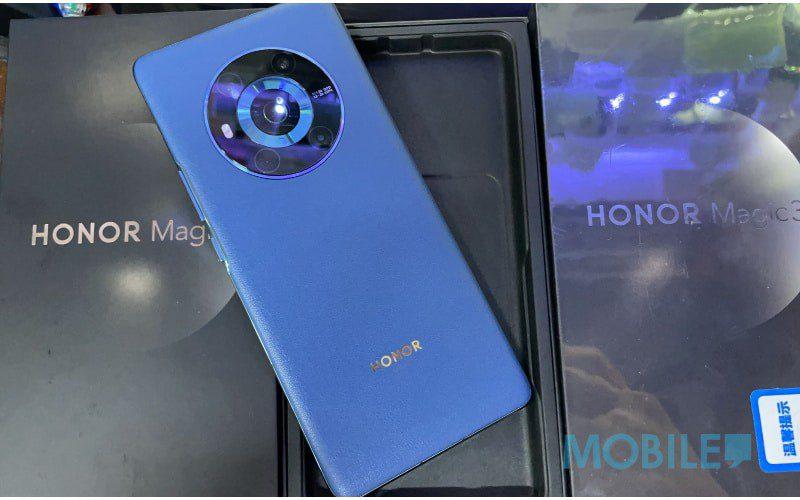 【水貨行情】配備 S888+ 及瀑布屏, Honor Magic3 到港!