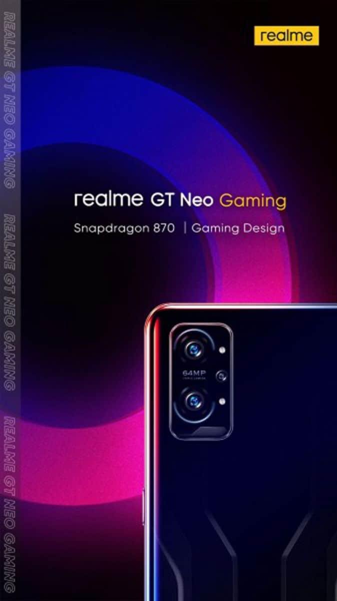 Snapdragon 870、120Hz 更新率螢幕,realme GT Neo2 國內入網