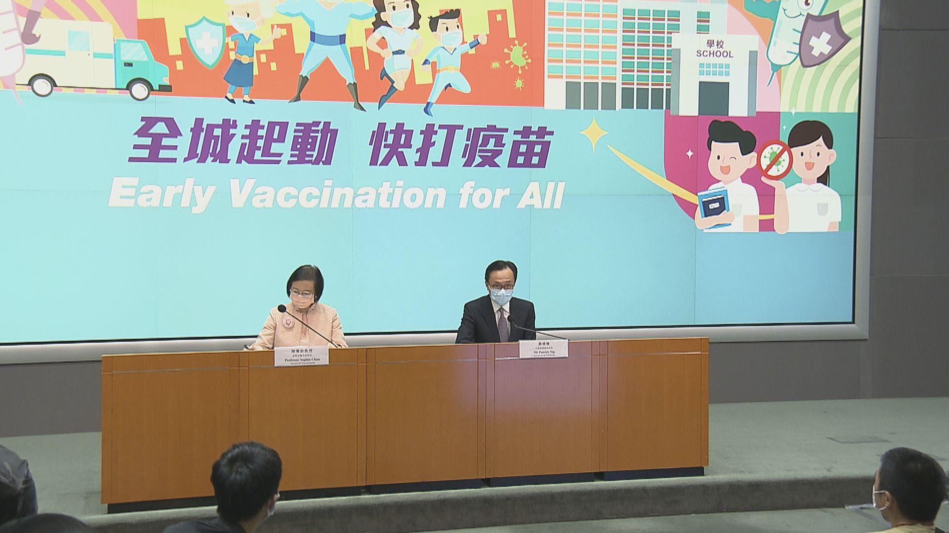 【最新‧附名單】5間疫苗接種中心下月底關閉 其餘延長運作至年底