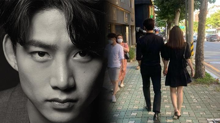 2PM玉澤演街頭約會圈外女友 大方戀愛獲讚好男人