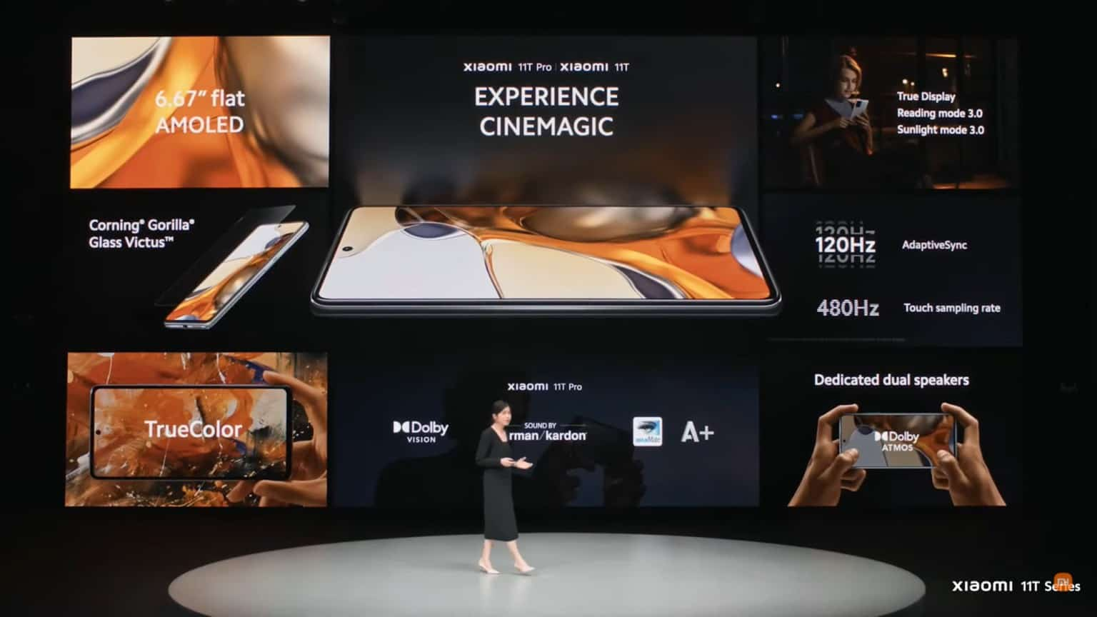 主打影音創作 Xiaomi 11T、11T Pro 及 11 Lite 5G NE 發表!
