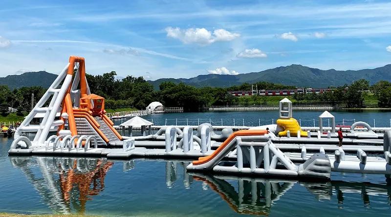 【期開限定】大埔白鷺湖水上樂園 水上充氣競技場Flow Academy Aqua Park