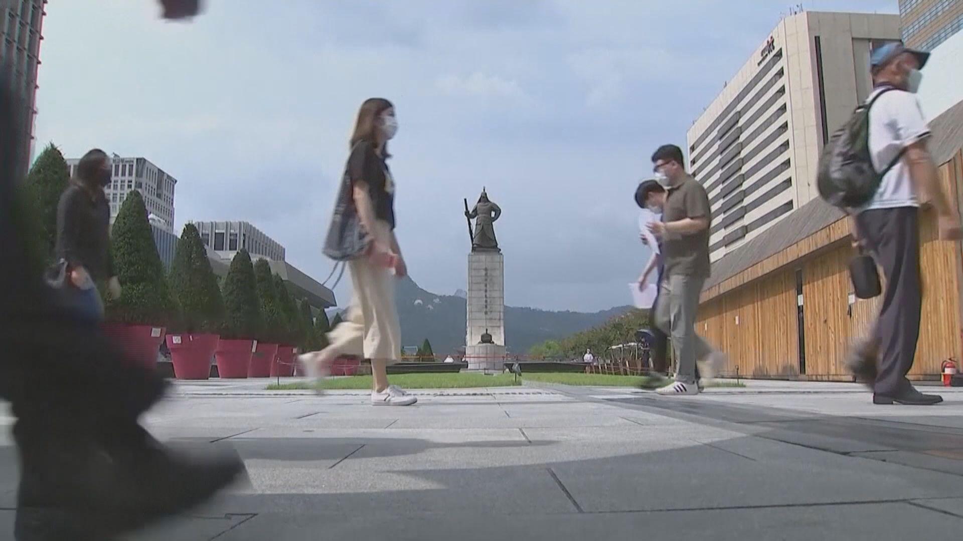 南韓單日新增確診個案首次突破三千宗