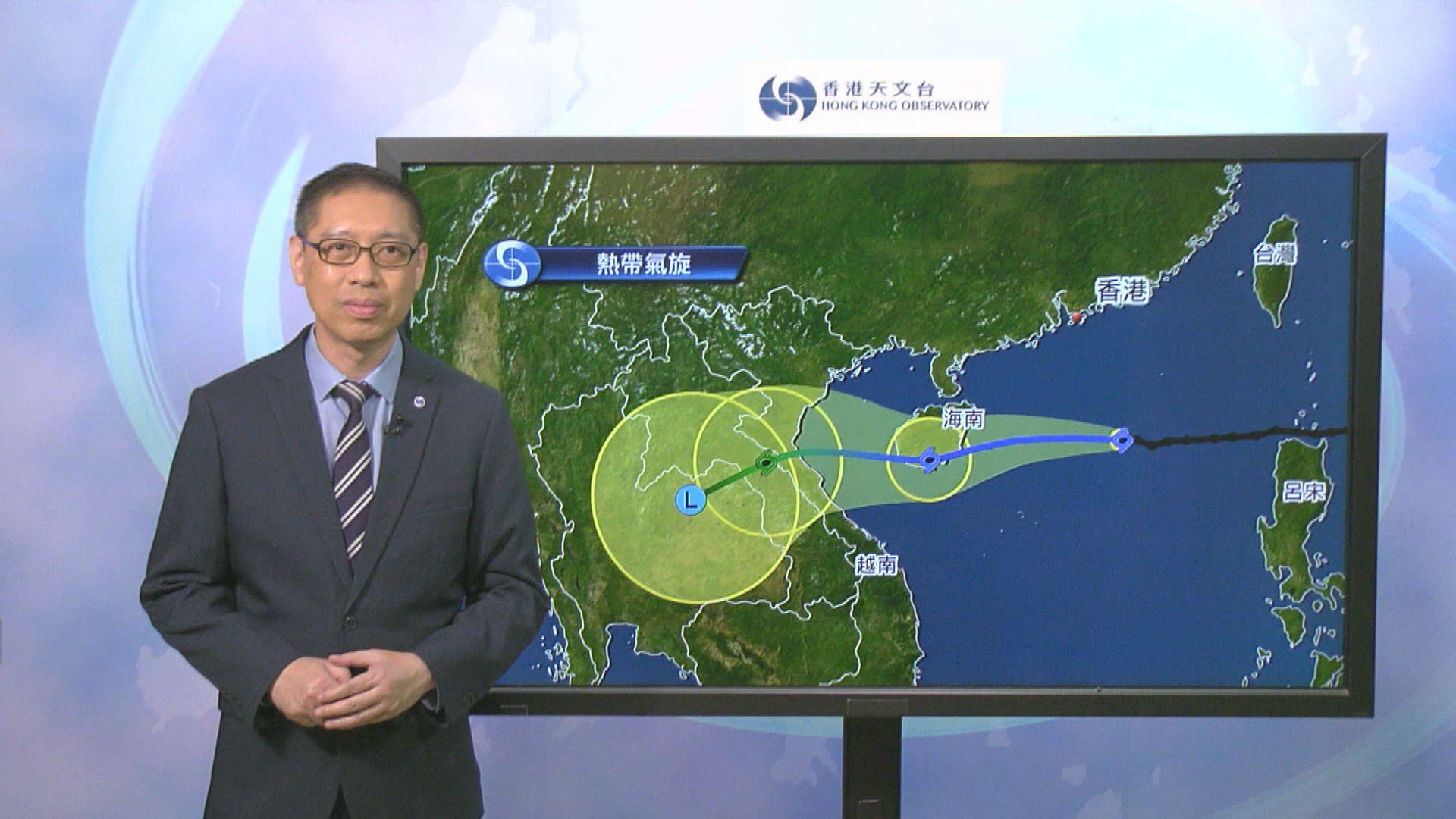 八號熱帶氣旋警告生效 料維持至日出前