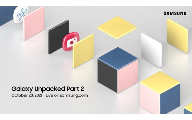 發表 One UI 4 手機介面?SAMSUNG 將於10月20日舉行 Galaxy Unpacked Part 2