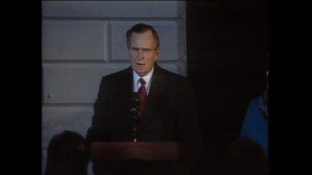 美國前總統老布殊入院留醫正在康復
