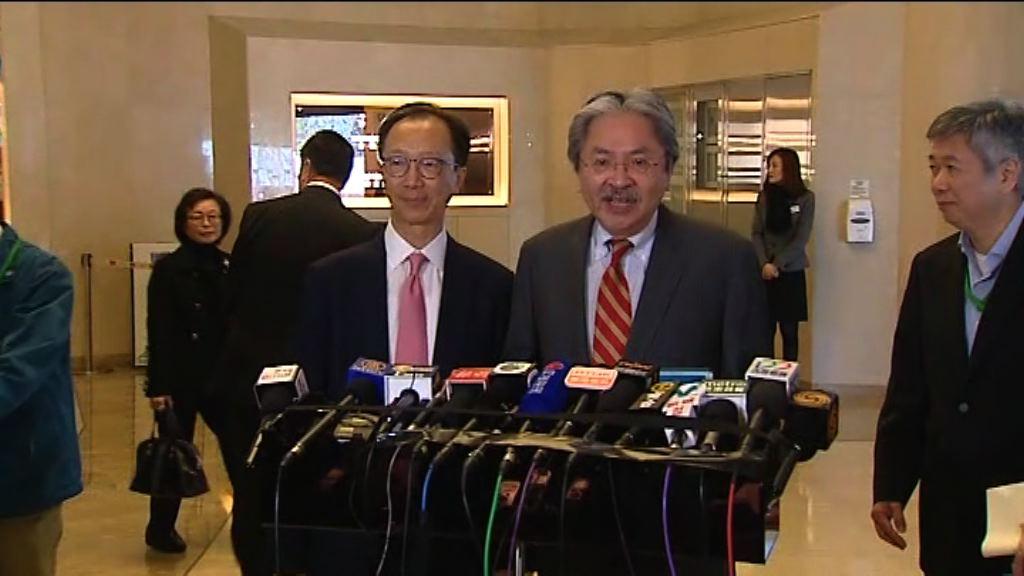 曾俊華:同意要在多方面加強教育工作