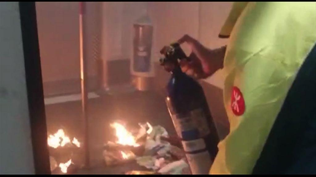 港鐵澄清職員非不懂使用滅火筒