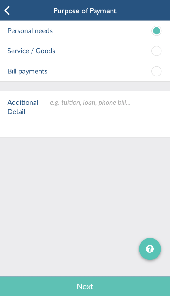 YBEX會簡單了解匯款目的,防止有人利用平台作違法行為。