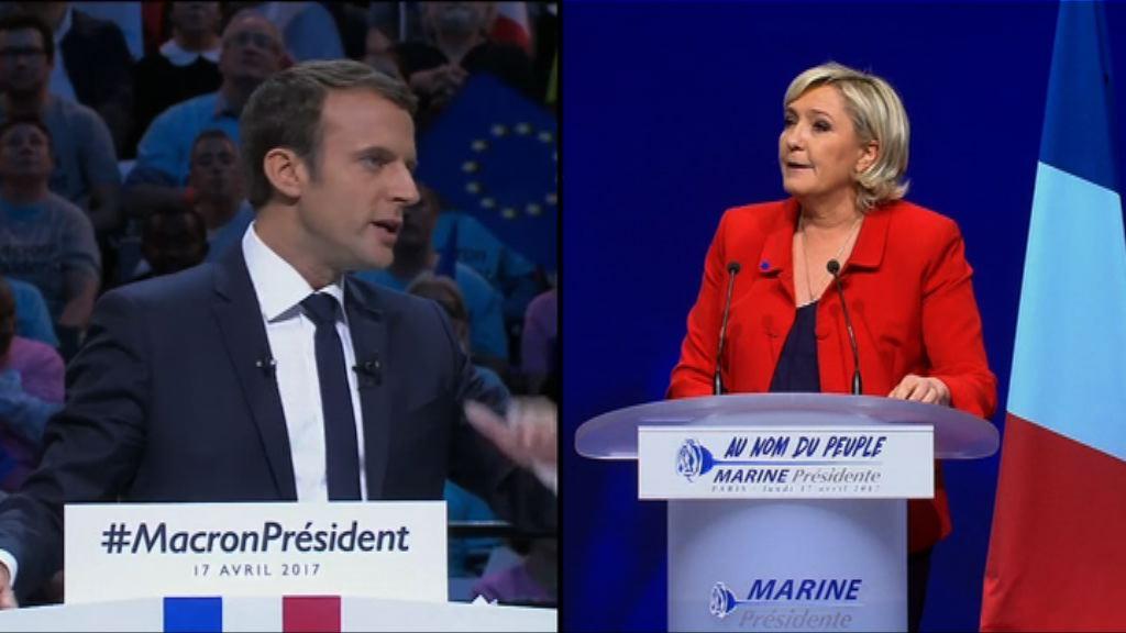 法國極左總統候選人支持度急升