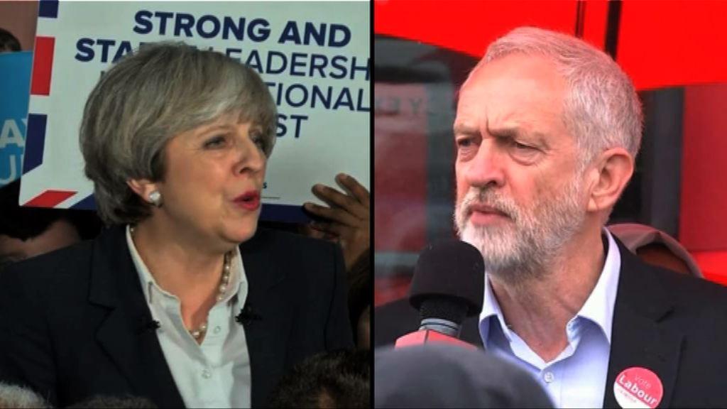 英國大選在即 文翠珊郝爾彬針鋒相對