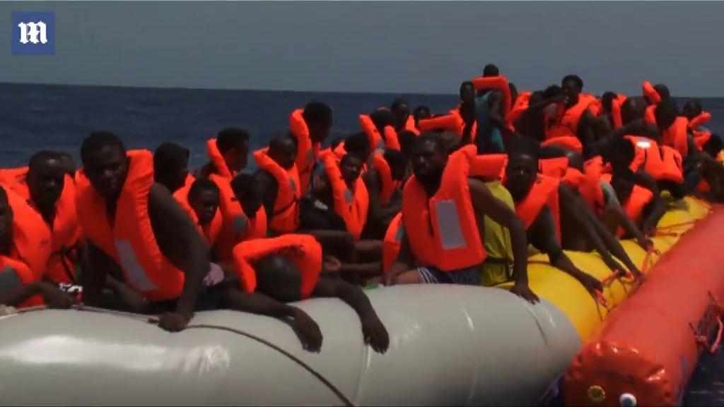 續有北非難民經地中海偷渡到歐洲