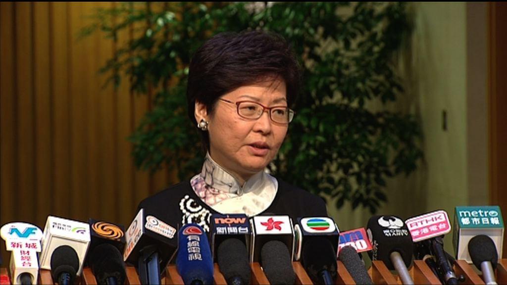 林鄭:今年已分配教師教席不會因收生問題而減少