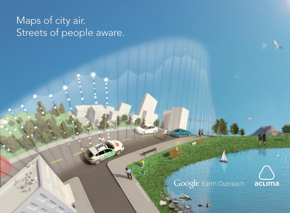 Google幫手監測空氣 推動制訂美國環保法
