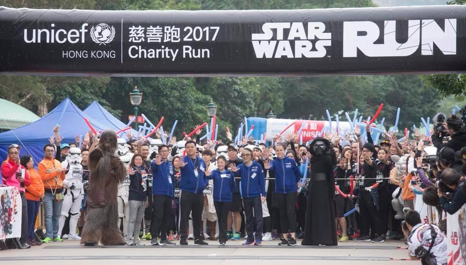 香港首個「星球大戰5公里賽」各界名人、DJ齊開戰!