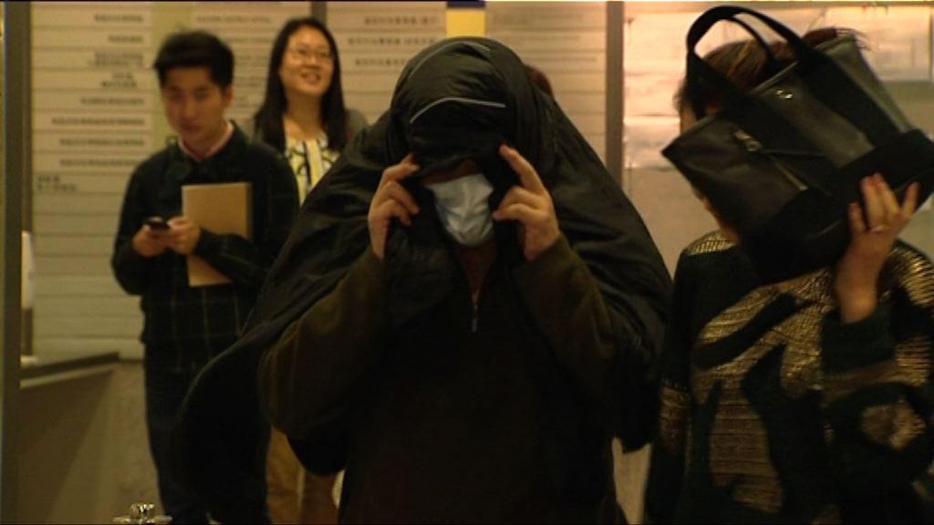 張健華被控五項非禮罪 月底再提訊