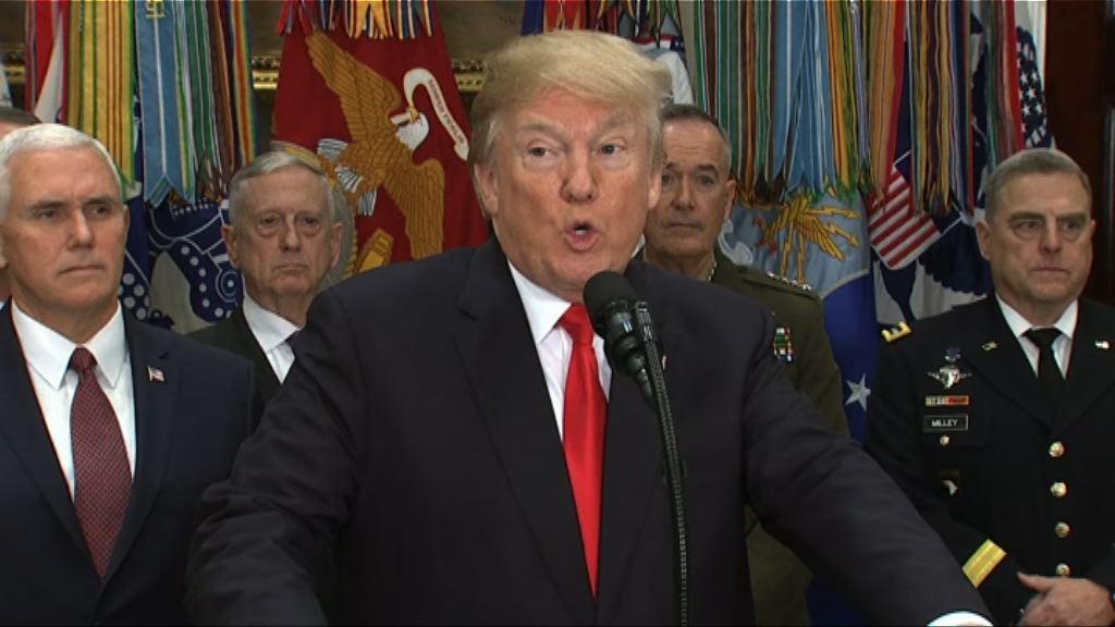 特朗普稱將收緊移民政策防止恐襲