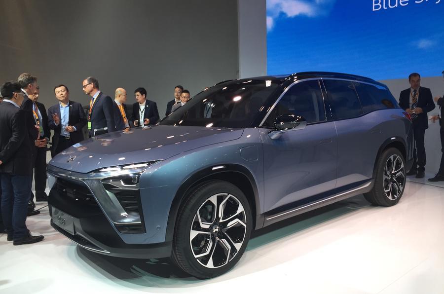 內地電動車Nio ES8駕到 挑戰Tesla Model X