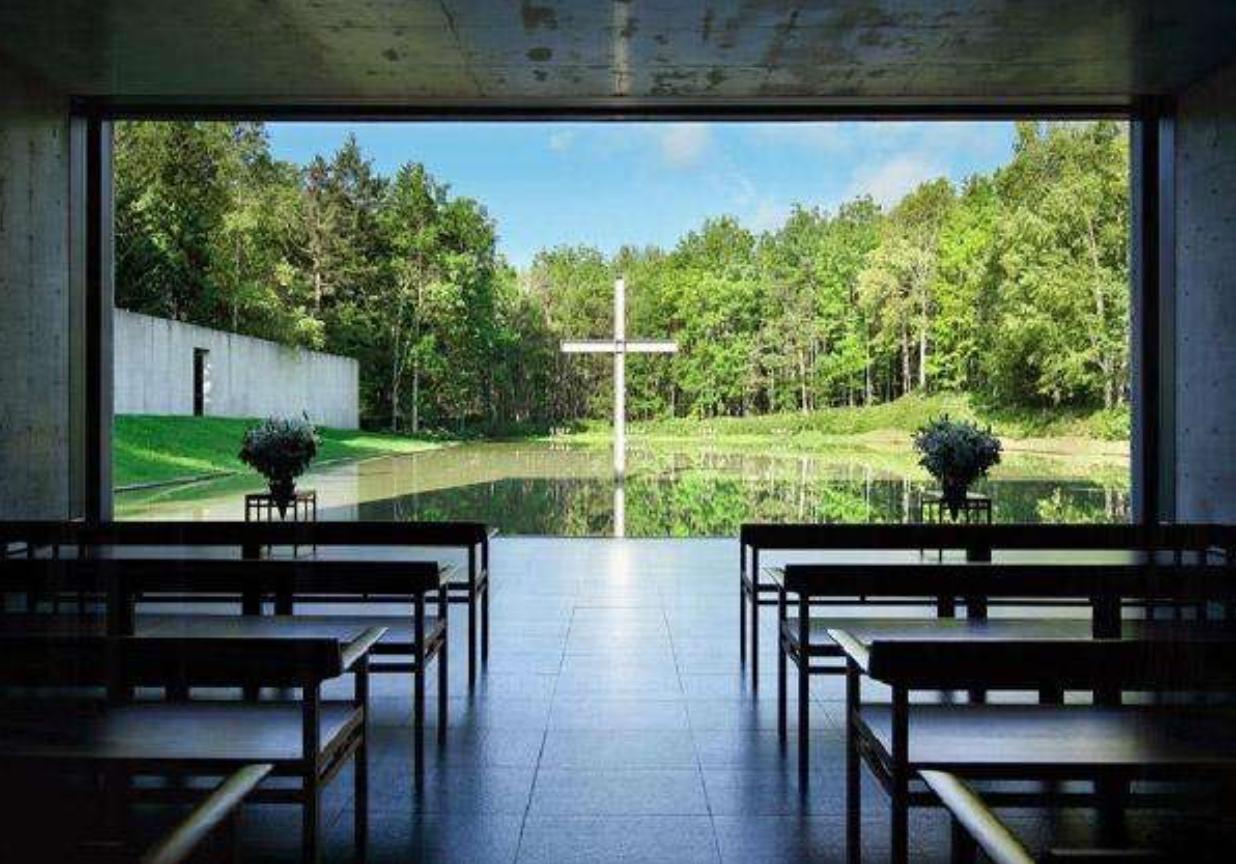 日本北海道水之教堂