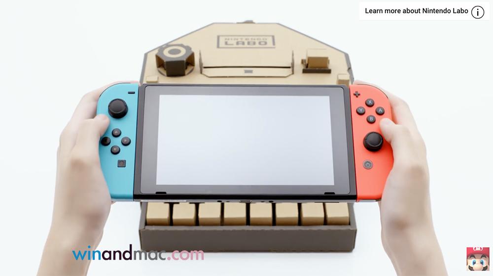 〈好玩〉任天堂Switch加Labo 紙皮加遊戲機更加好玩?