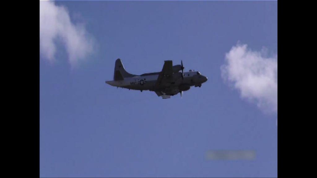 俄戰機近距離攔截美軍偵察機