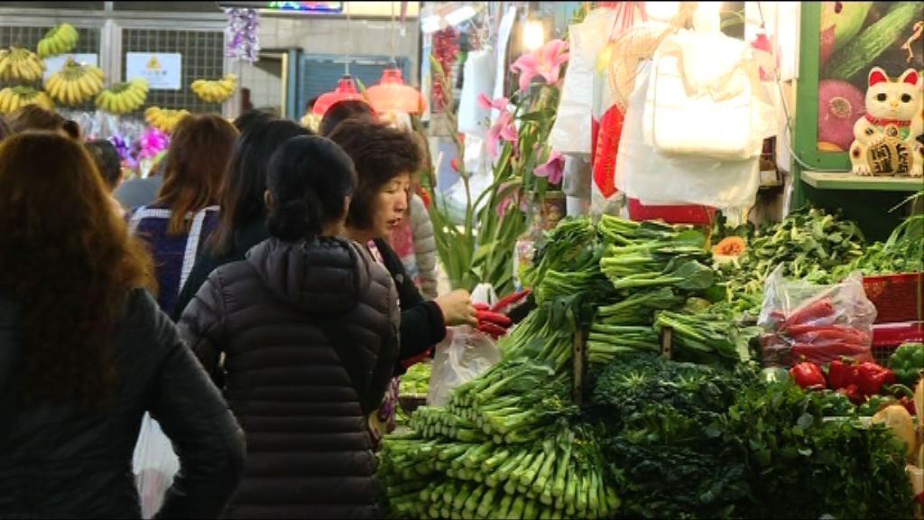 農曆年卅 海鮮和菜價較貴