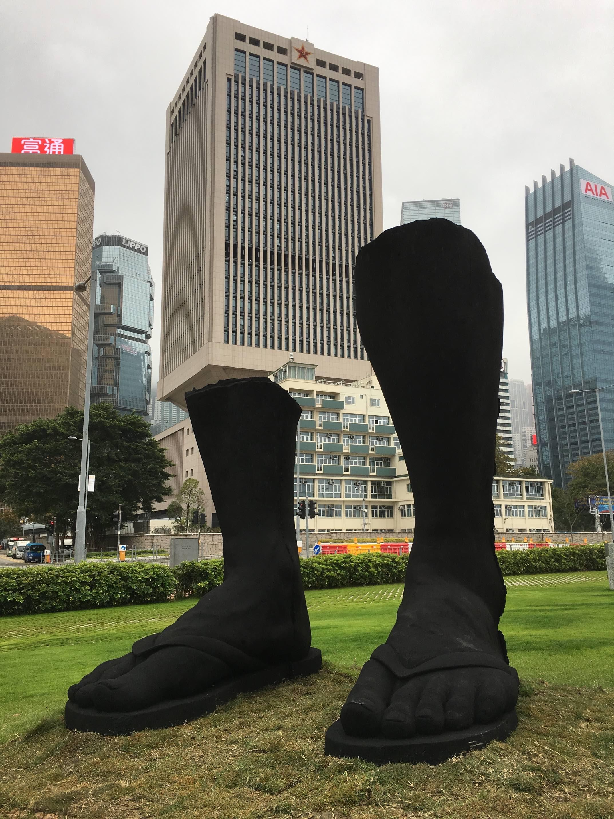 「藝遊維港」雕塑展覽,香港藝術家曾敏富的作品