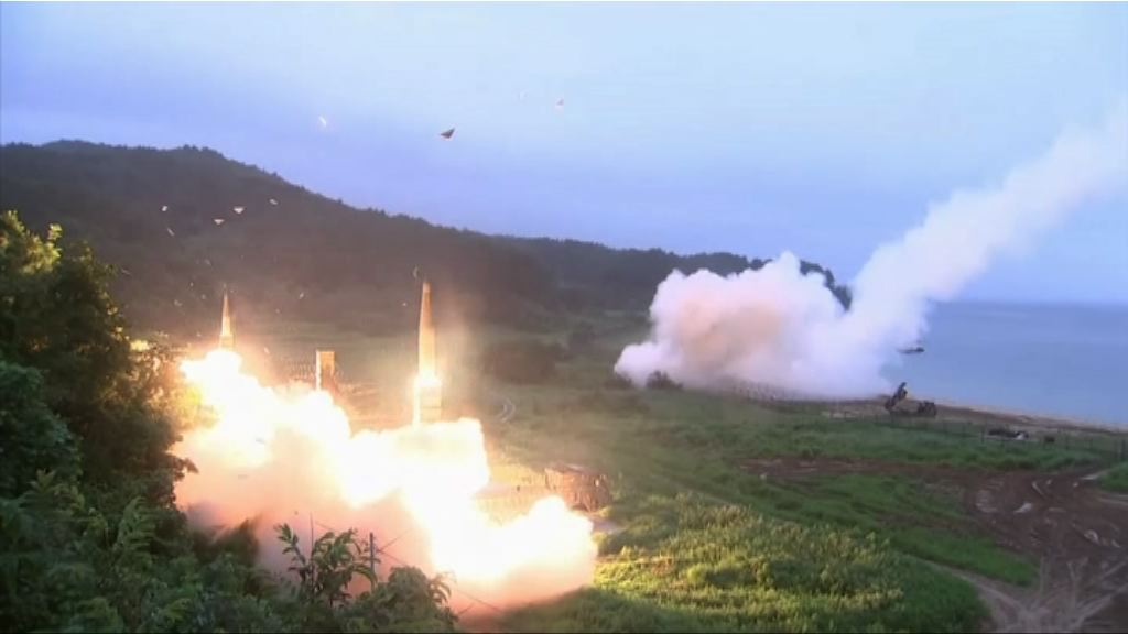 美韓聯合軍演下月一日舉行