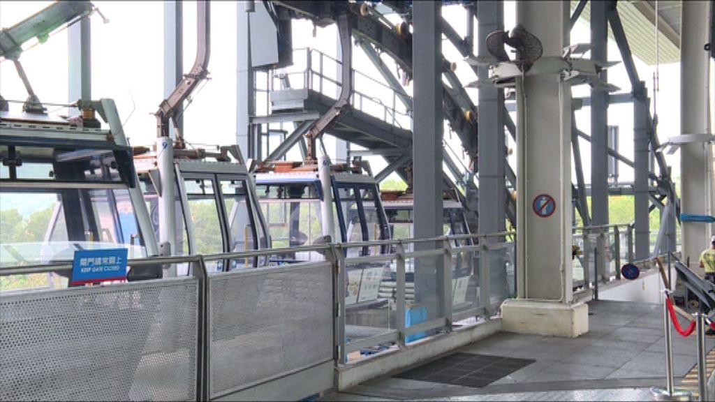 昂坪360纜車未來兩周重開