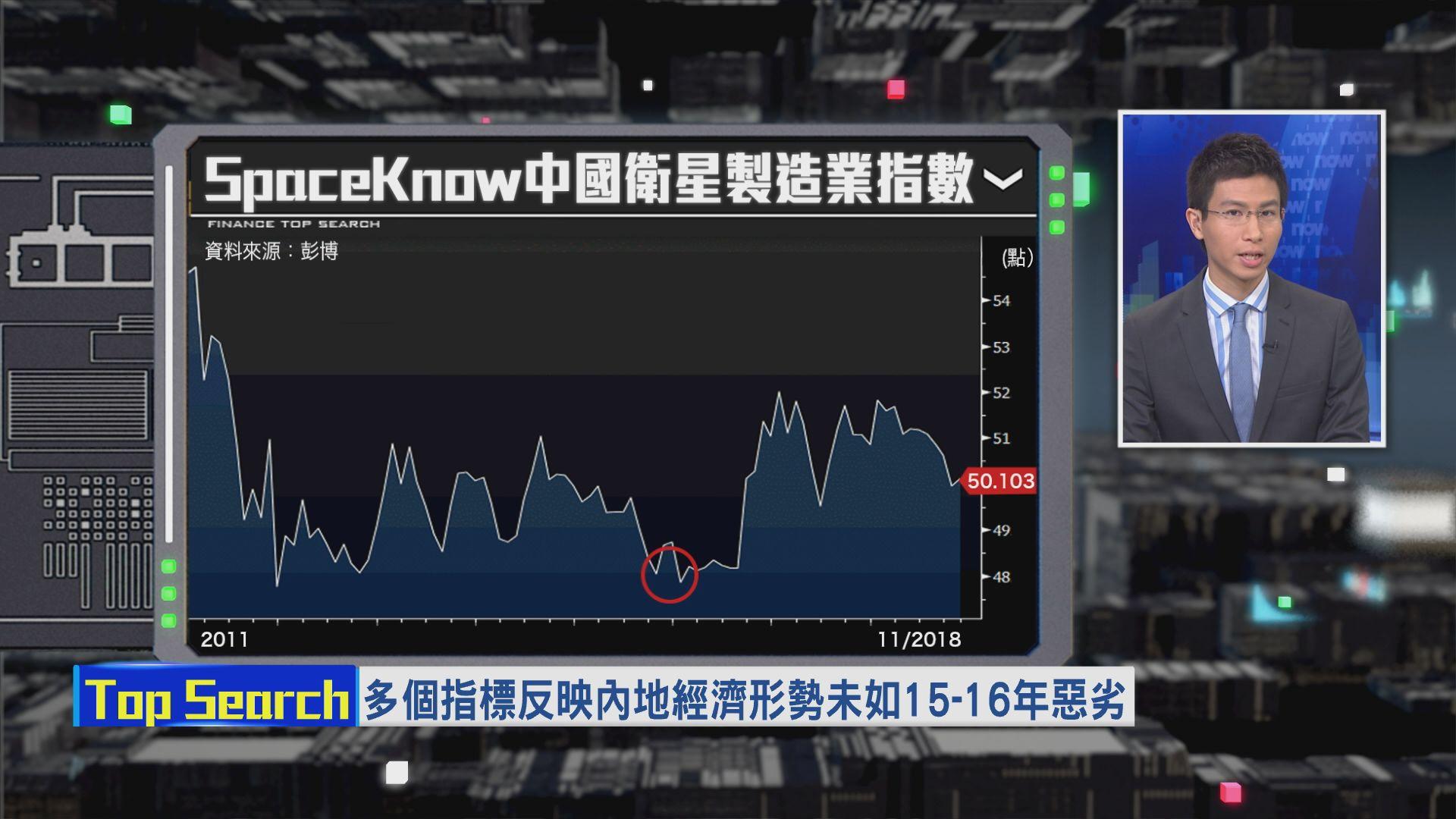 【財經TOP SEARCH】內地經濟形勢真係好差?
