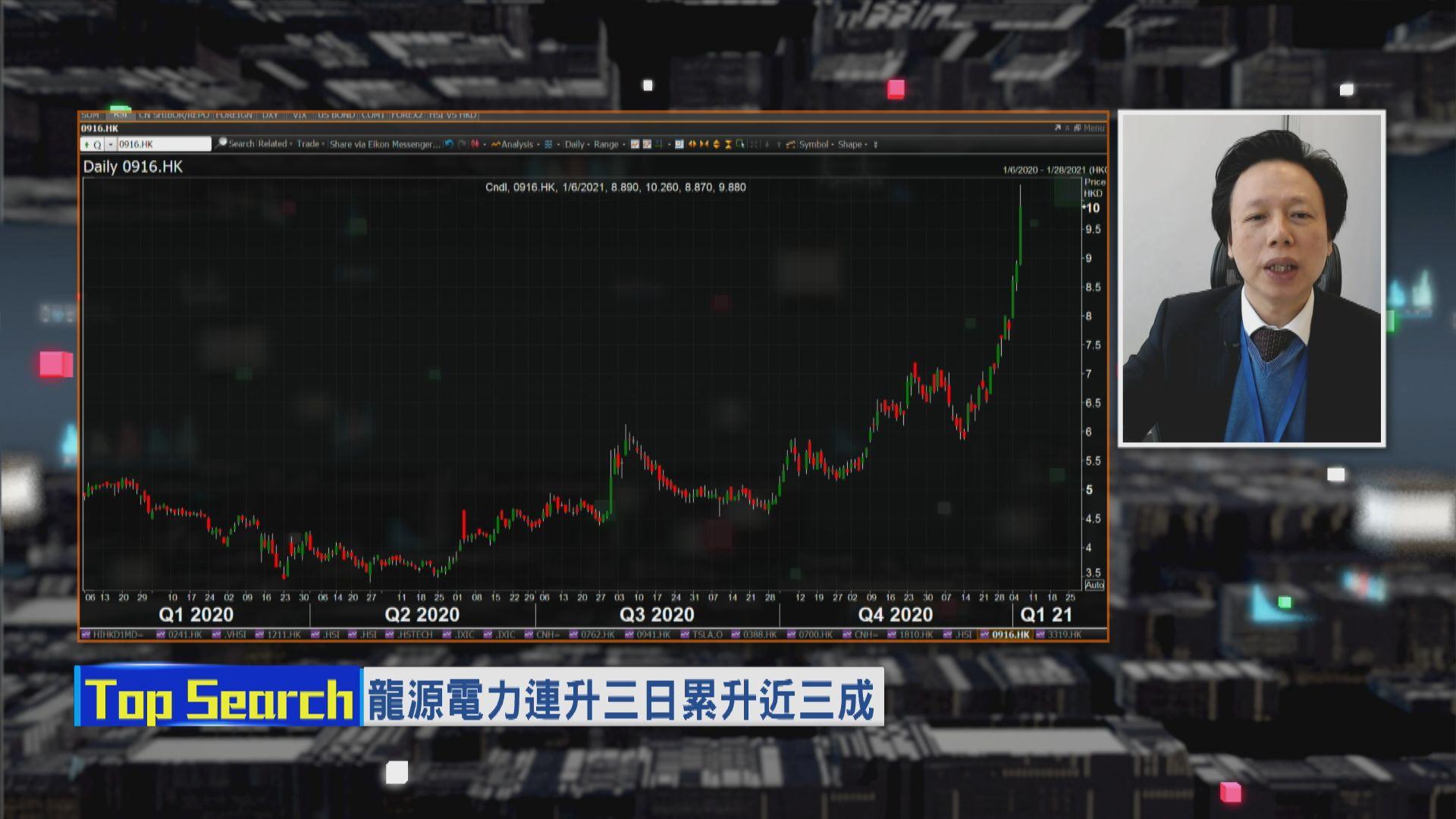 【財經TOP SEARCH】買定龍源等見$15?