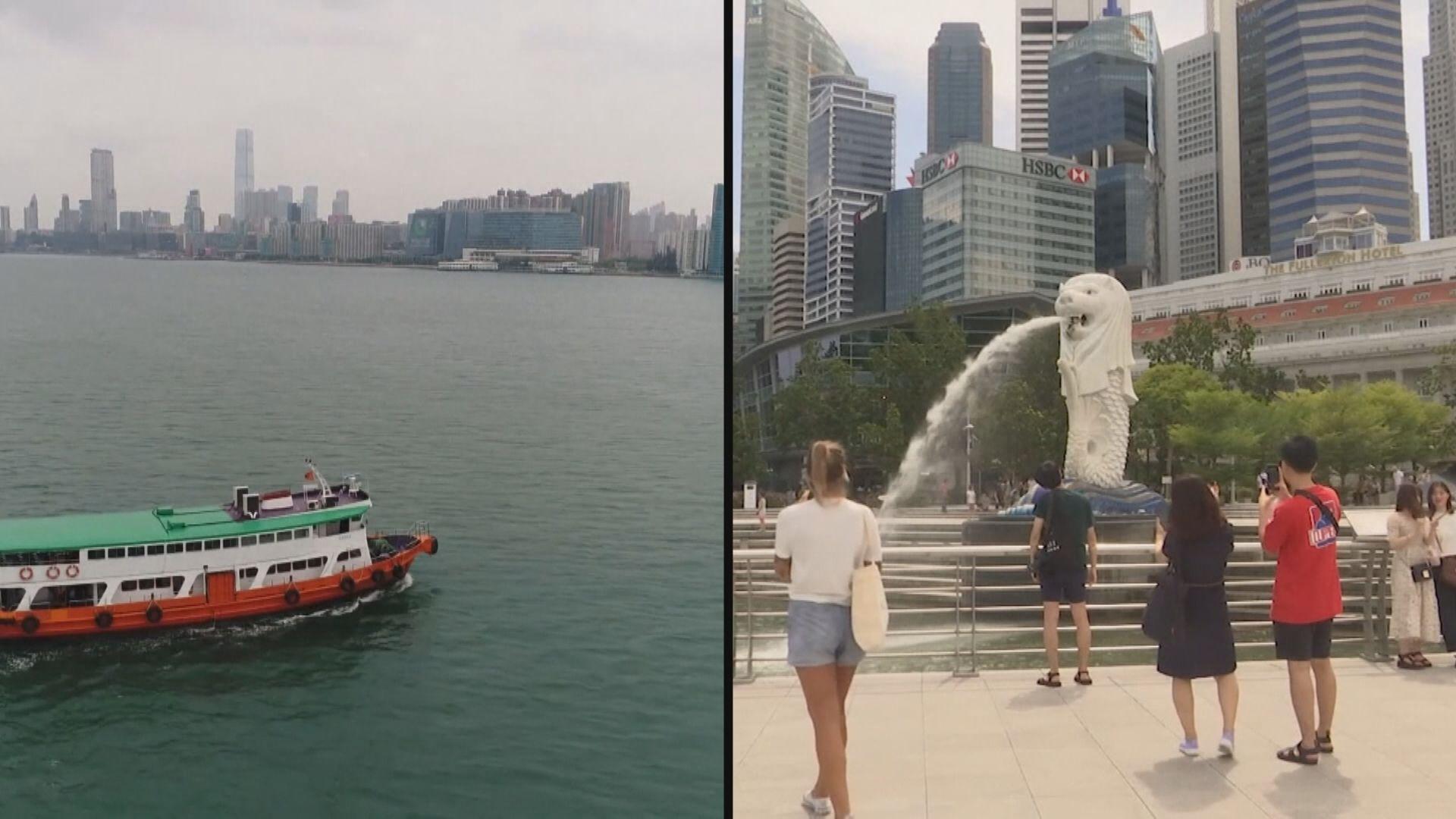 星港旅遊氣泡推遲至明年啟動