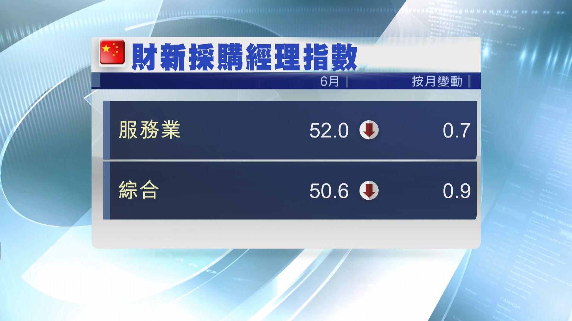 【經濟勢危】財新:長期形勢唔樂觀